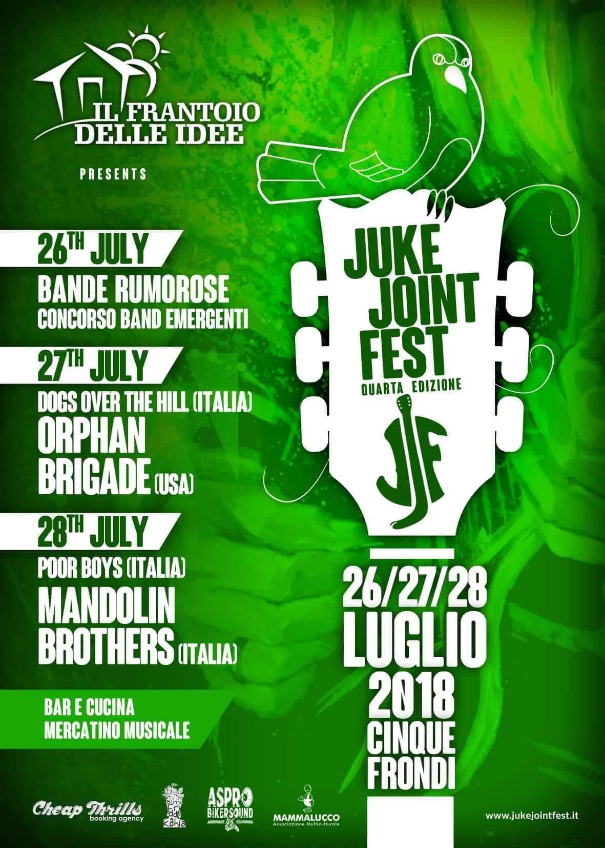 Juke Joint Festival - IV° EDIZIONE
